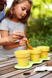 amazon com green toys indoor gardening kit toys u0026 games