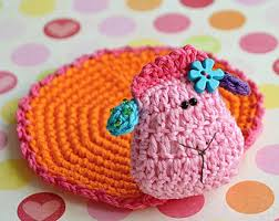 crochet owl ornament pattern