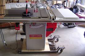 craftsman 10 portable table saw review craftsman professional 22124 10 table saw by frostyjo