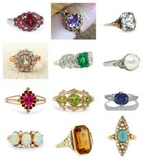 birthstone rings birthstone engagement rings diamond engagement ring alternatives