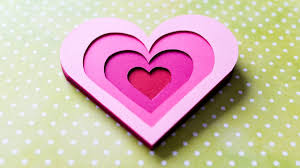 how to make 3d greeting card valentine u0027s day heart step by