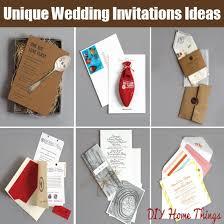 wedding invitations ideas diy 10 cool and unique wedding invitations ideas diy home things