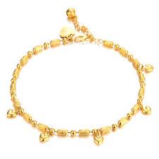 gold bracelet chain design images Women 39 s brand new anklet bracelet gold color anklet fashion foot jpg