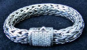 sterling silver woven bracelet images John hardy sterling silver 18k gold white diamond woven jpg
