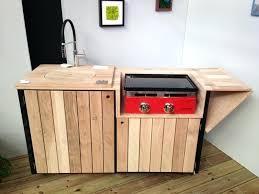 cuisine exterieur meuble exterieure bois d ete newsindo co