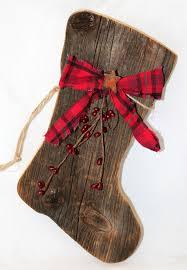 Country Barn Christmas Decorations by Primitive Barnboard Santa Boot Barn Wood Stockings And Barn