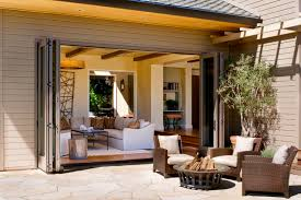 folding aluminum patio doors houzz