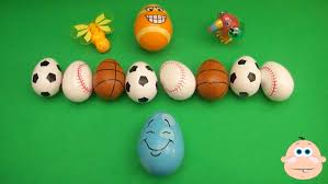 sports easter eggs kinder egg learn a word spelling sports teaching