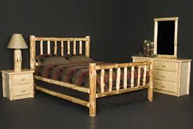 Wooden Log Beds Viking Log Furniture Supplier Of Fsc U0026 True North Products Mn