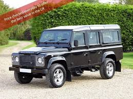land rover defender 2015 used 2015 land rover defender 110 2 2 d county utility station