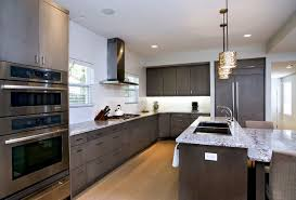 contemporary dark grey kitchen u0026 bath