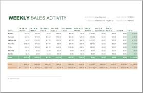 weekly based business sales report template free download vatansun
