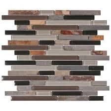 pebble tile natural stone tile the home depot 38 best natural stone u0026 shell mosaics images on pinterest