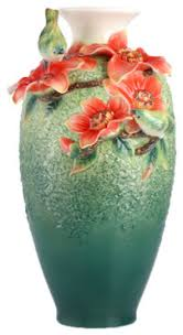 Franz Vase Franz Porcelain Collection Hero Forever Silk Cotton Tree Japanese