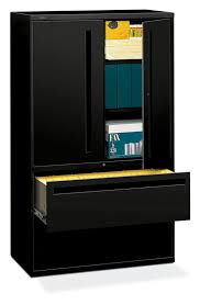 Lateral File With Storage Cabinet Hon Brigade 700 Series 42 Inch Lateral File Storage Cabinet