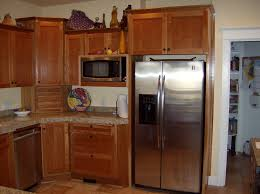 Cherry Cabinet Kitchen Kitchen Alluring Natural Cherry Cabinets Our Rustic Modern