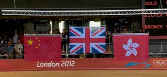 Hk Flag Britain China And Hong Kong On The Same Stage In London Olympics