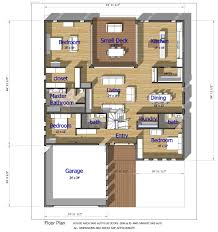 buy our 1 level steel frame home 3d floor plan next generation