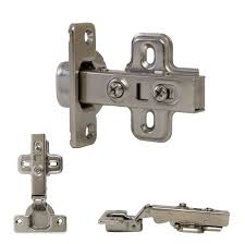 4 x soft closing cupboard hinge with pack full overlay