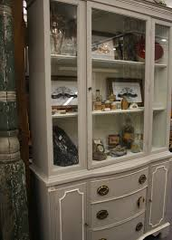 beautiful glass front cabinet paint ed in amy howard u0027s selznick