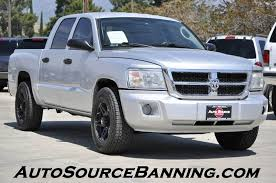 dodge dakota slt 2008 dodge dakota slt 4dr crew cab sb in banning ca auto source