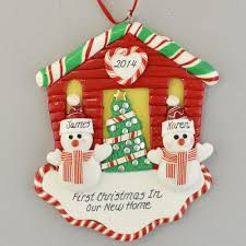 new house for a personalized ornament