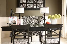 Zebra Dining Room Chairs The Yellow Cape Cod From Dining Room To Office In 5 Minutes