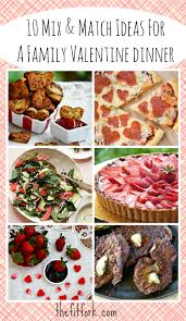 Dinner Ideas For Families Fast Fit Family Valentine Dinners U2013 Mix And Match Menuthefitfork Com