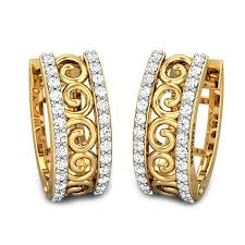 diamond ear studs zaira diamond earrings jewellery shopping online india yellow