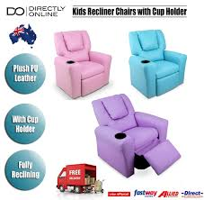 Leather Recliners South Africa Kids Pu Leather Recliner Childrens Lounge Sofa Arm Chair W Cup
