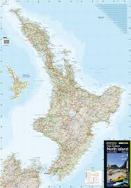 World Map New Zealand by New Zealand Wall Maps