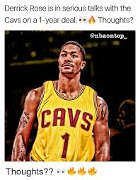 Derrick Rose Meme - derrick rose is in serious talks with the cavs on a 1 year