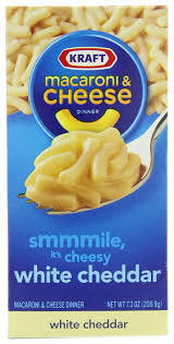 amazon com kraft macaroni and cheese white cheddar 7 3 ounce