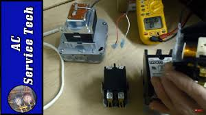 contactors explained and tested wiring troubleshooting problems