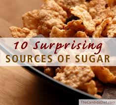 10 surprising sources of sugar to avoid the candida diet