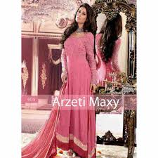 Baju Muslim Ukuran Besar jual baju gamis pesta brokat arzeti p901 l ukuran besar