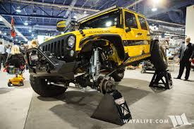 spyder jeep 2016 sema poison spyder rubicon express beatrix jeep jk wrangler