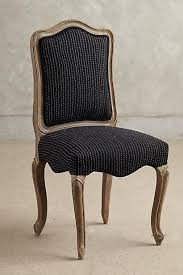 Anthropologie Dining Chairs Beatrix Black And Brown Dining Chair