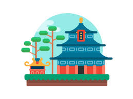 epcot china animation collaboration by krista hansen dribbble