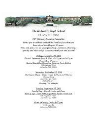 high school reunion invites 24 images of class reunion dinner program template eucotech