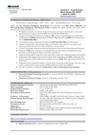 Resume Format For Be Freshers Resume Samples For Net Freshers