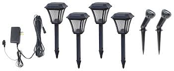 Landscape Lighting Sets Low Voltage by Brinkmann Low Voltage Landscape Light With 828 0303 6 Led V Combo