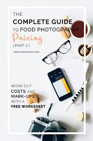 the complete guide to food photography pricing part 2
