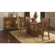 mission dining room table craftsman mission style kitchen and dining room table sets hayneedle