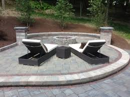 Unilock Fire Pit by 8 Best Back Yard Build Outs Images On Pinterest Outdoor Living