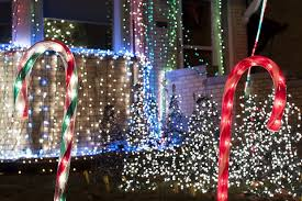 christmas light display to music near me check out this norwood park family s synchronized christmas light