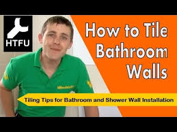 Tile Bathroom Shower Wall How To Tile A Bathroom Wall Installing Tile U0026 Bathroom Tile
