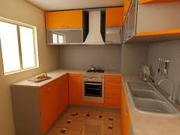 kitchen design 20 kitchen set design for small space decors orange