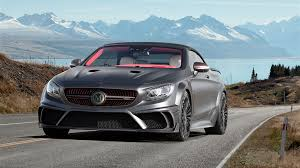 mansory mercedes mansory mercedes benz s63 amg cabriolet black edition 4k wallpaper