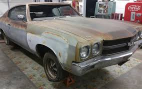 Barn Find Videos The Most Amazing 1970 Chevelle Ss396 Barn Find Ever Is Headed To